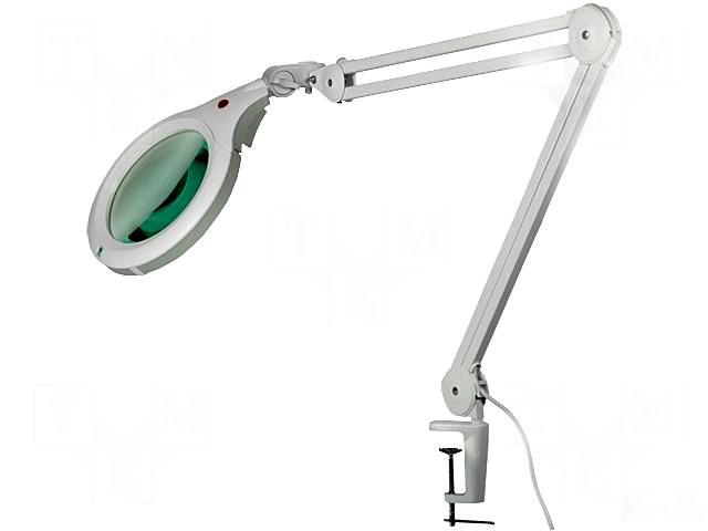 Lampa de birou cu lupa DL-ULTRASLIM-XR