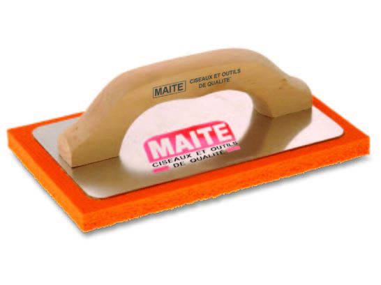Drisca burete portocaliu suport aluminiu