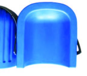 Genunchiera plastic albastra