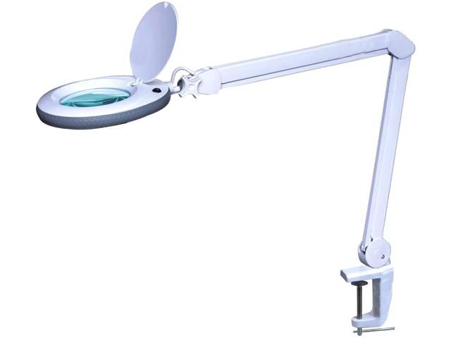 Lampa de birou cu lupa LAMP-5D-N1
